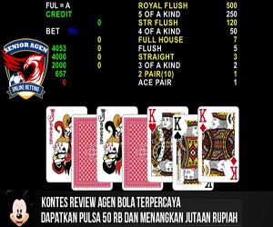 Senior Master Agen Judi Bola Casino 338A Tangkas Online