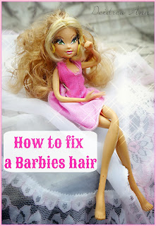 how to fix poofy doll hair