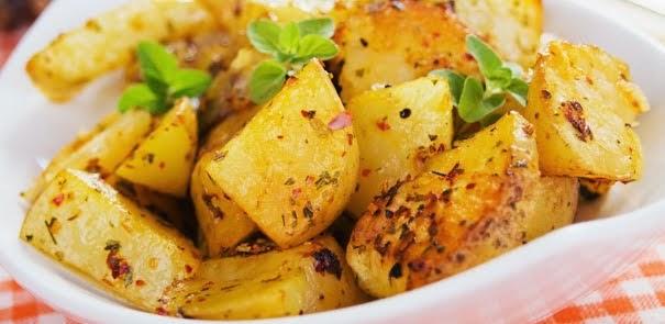 Batatas Assadas com Limão