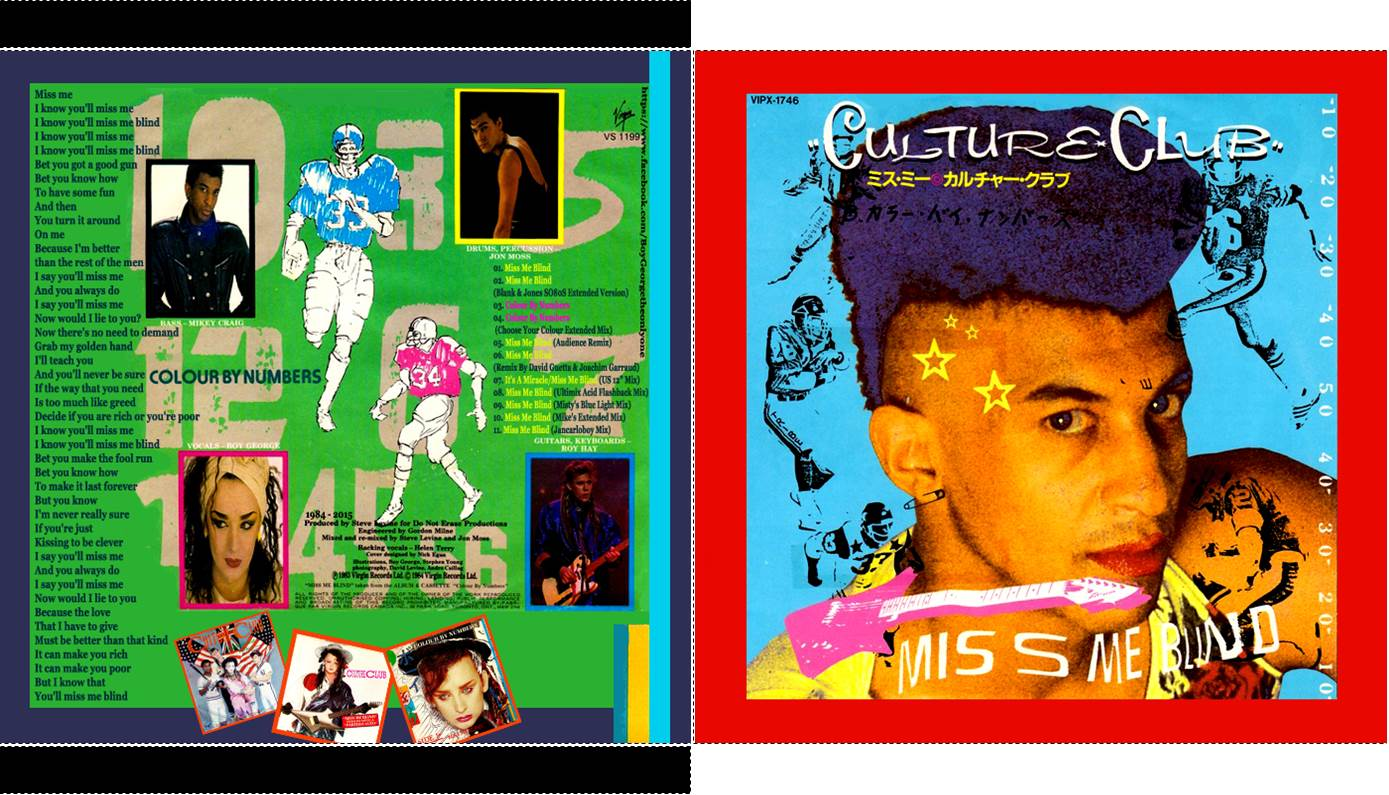 MA BOYGEORGETHEQUE: CULTURE CLUB - Miss Me Blind - CD FORMAT2TITRES ...