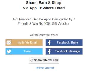 Shopclues Free Rs. 100 Voucher