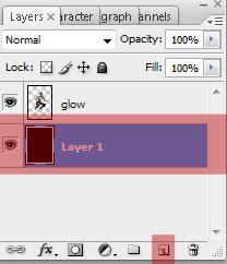 glow6 Penggunaan efek glow di Dance Ray dengan photoshop