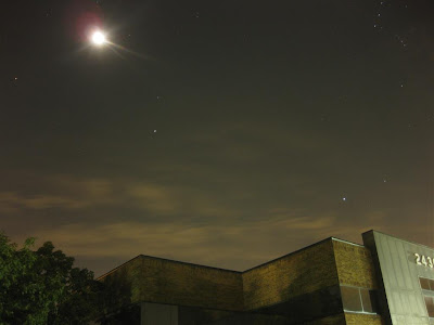 Long Exposure, CHDK, stars and moon