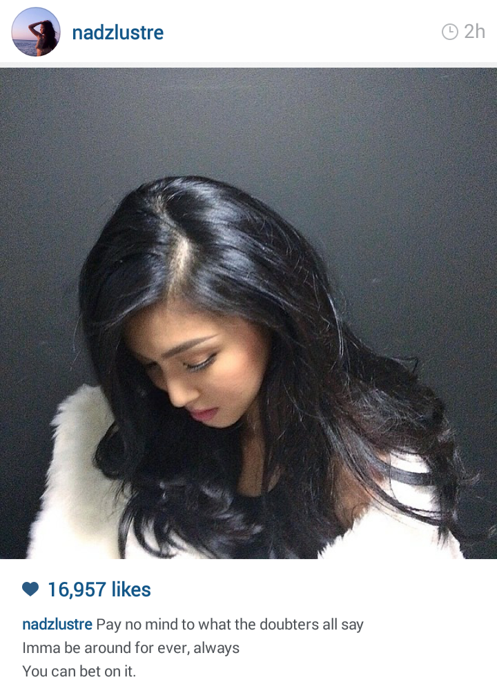 fashion pulis insta scoop nadine lustre to doubters i