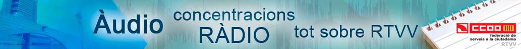 Audio CCOO a RTVV