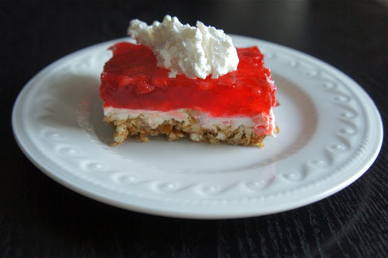 Sweet and Sassy: Strawberry Pretzel Squares