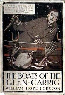 The Boats of the Glen Carrig, 1920, copertina