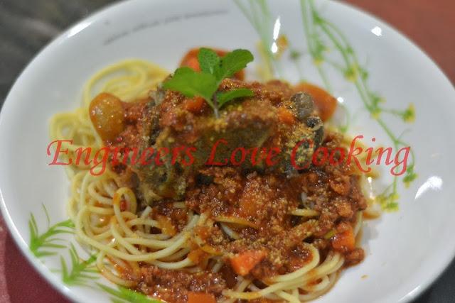 spaghetti bolognese tulang  beef bones spaghetti bolognese