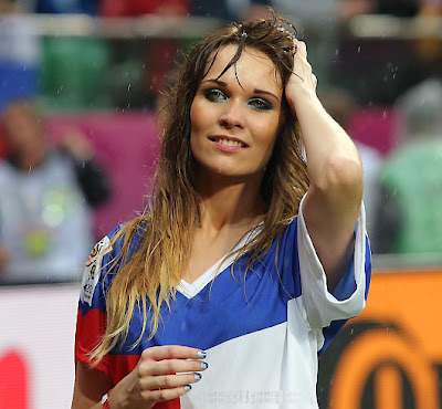 Czech girls fans Euro 2012