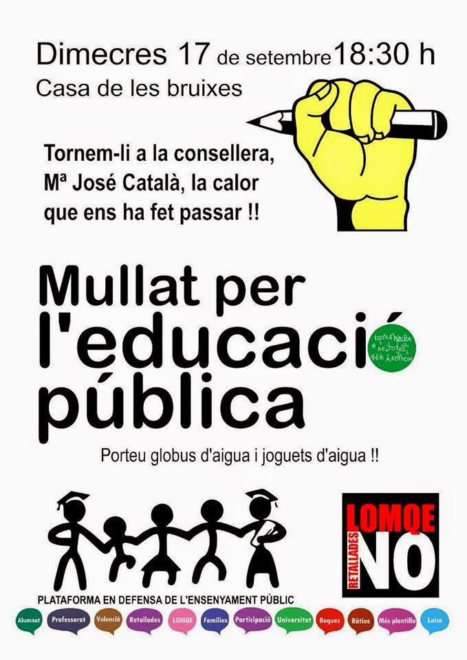 Mullat per l'educació pública