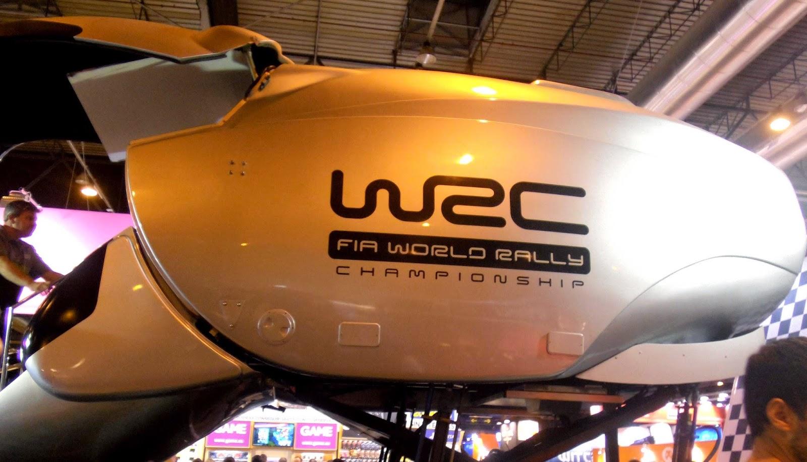 simulador de WRC