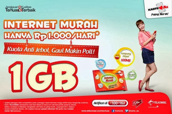 Kartu As Internet Murah