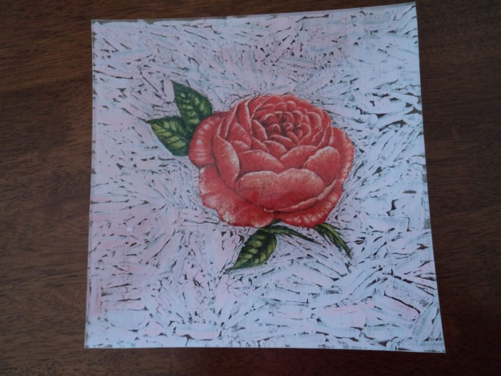 Las manitos de yanelita quiero aprender - Pintura para craquelar ...