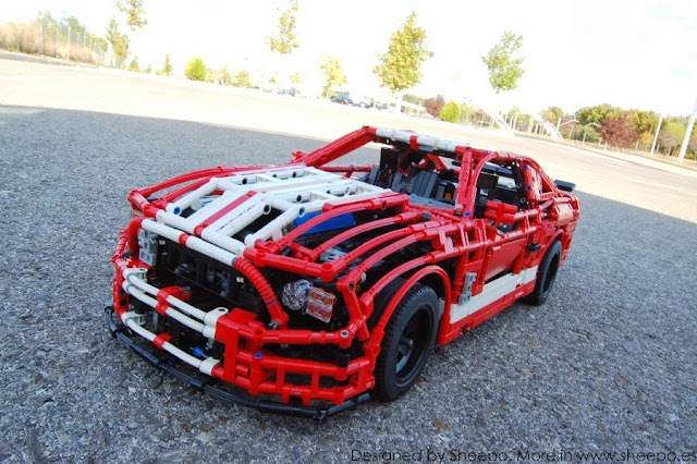 ford mustang shelby gt500 lego technic mindstorms. Black Bedroom Furniture Sets. Home Design Ideas