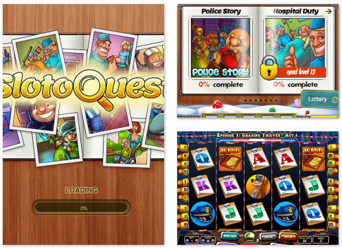 FB Game : SlotoQuest: Gambling Adventure