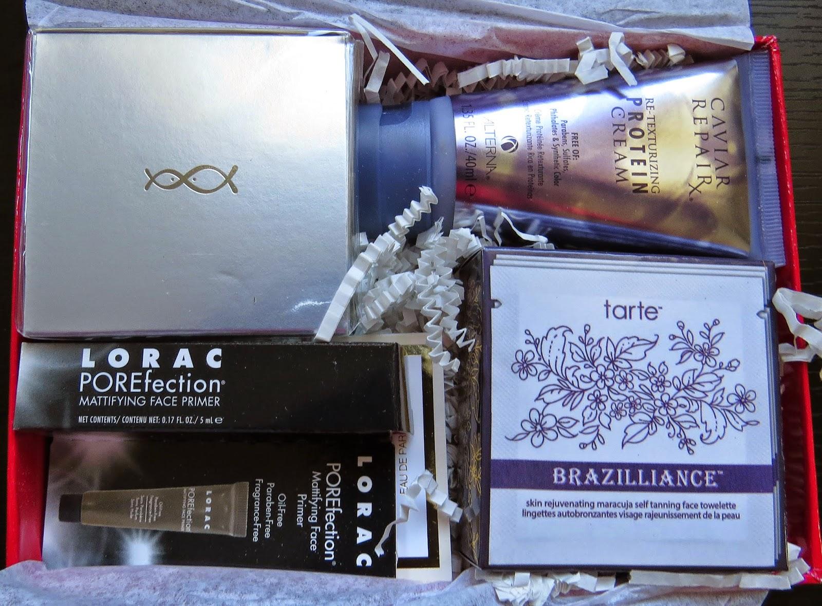 September 2014 Beauty Bar Sample Society