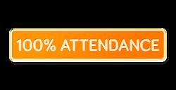 100% Attendance Award