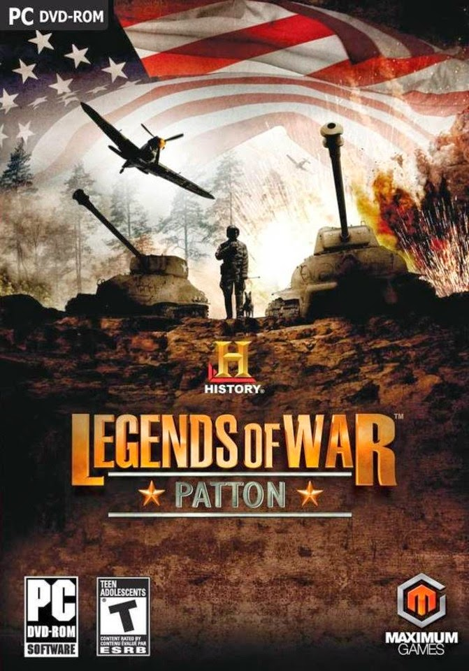 History Legends Of War Patton PC Game