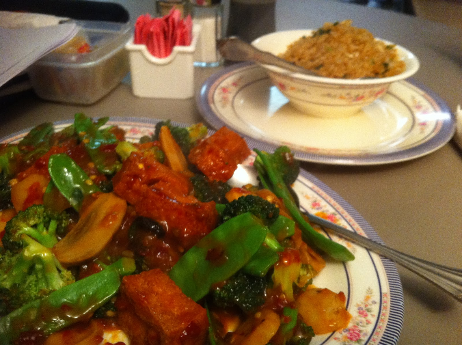 Marty 39 s flying vegan review not bad chinese food in elkhart in for Garden fresh chinese vegan cuisine