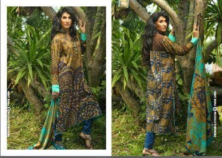 Firdous Winter Dresses 2014