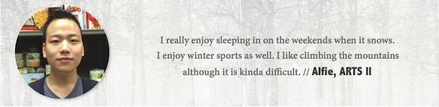 Alfie, UAlberta - Winter