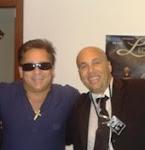 Cantor sertanejo Leonardo com óculos CQC Saj.