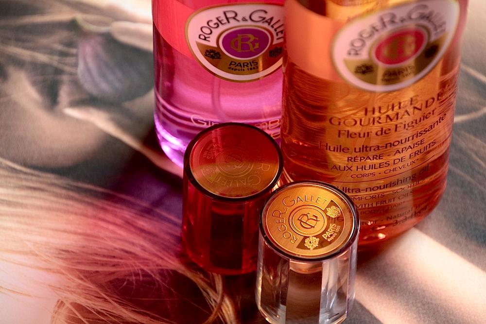 roger gallet gingembre rouge huile gourmande fleur de figuier avis test