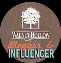 Guest Blogger Walnut Hollow