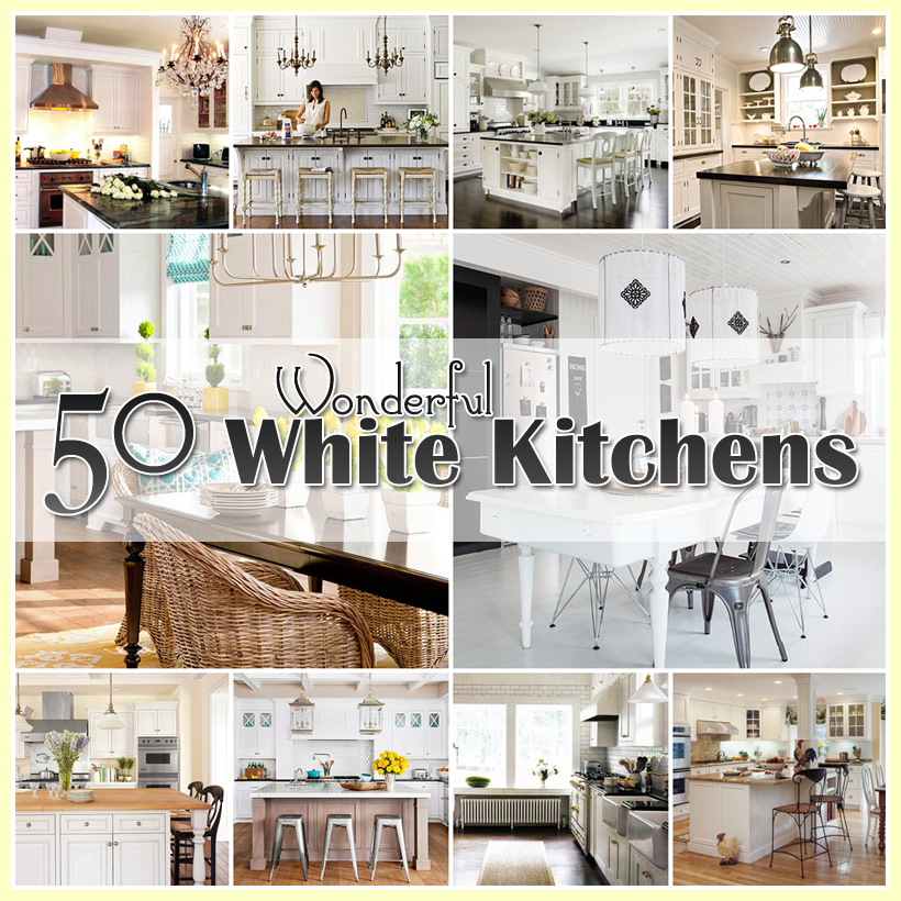 i thought it would be fun to take a look at some today u2026so grab yourself a cup of something yummy and sit back and take a look at a world of 50 plus white kitchens   the cottage market  rh   thecottagemarket com