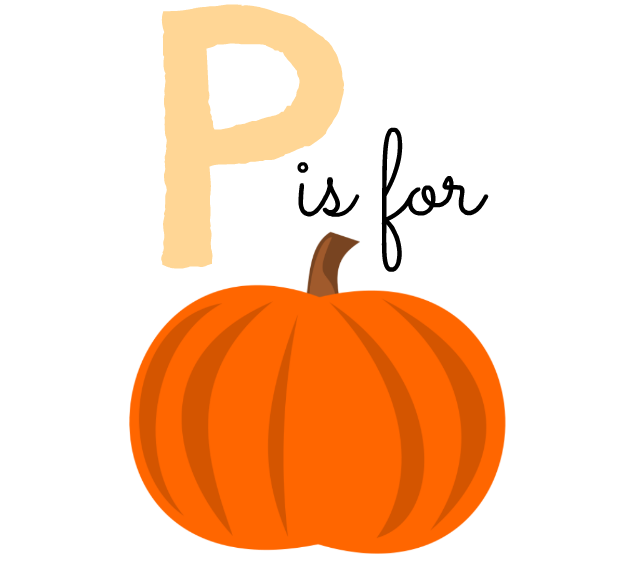 graphic about Pumpkin Printable named Printable: P is for Pumpkin - Taylor Allan Pictures