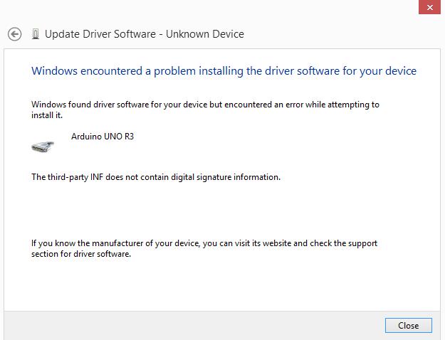 Download driver arduino uno r3 windows 8