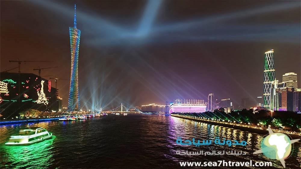 برج كانتون في الصين canton