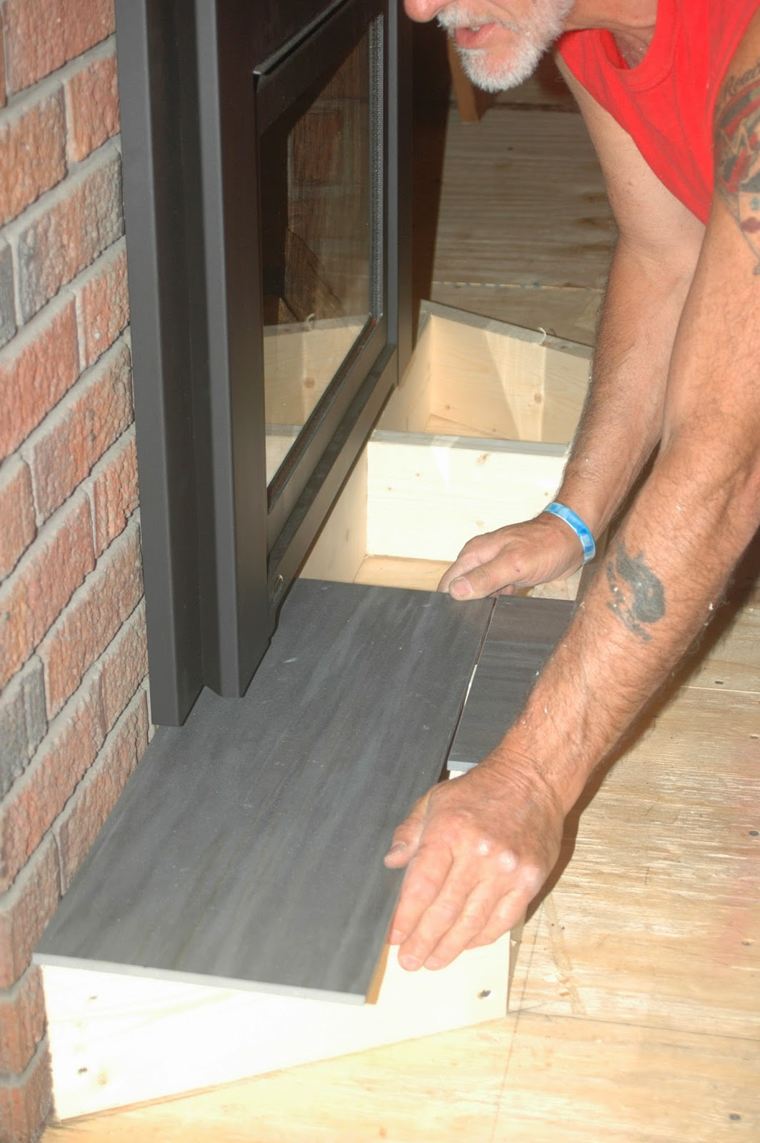 The legacy of 3283 while marcel worked in the living room jimmy began the ceramic tile work on the bathroom floor he first laid a bed of mortar and fastened cement board dailygadgetfo Images
