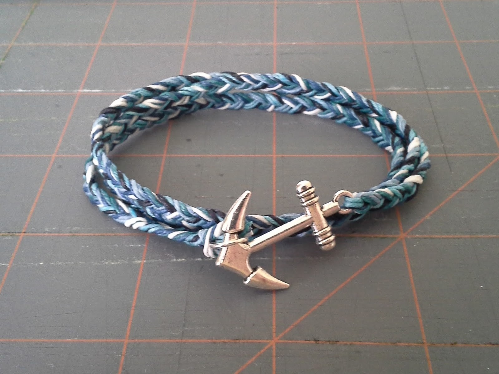waxed handmade with adjustable beads turquoise hand original jewelry cotton products tu bracelet size segment cord