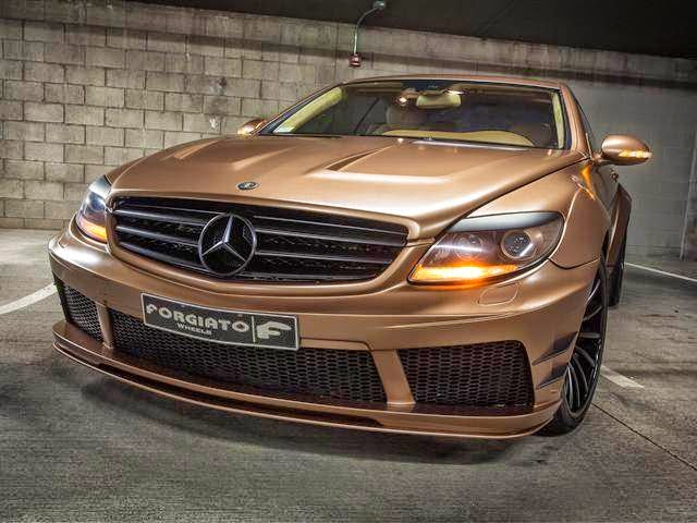 mercedes cl 65 amg body kit custom