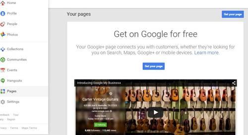 cara membuat fanspage di google+ dengan mudah