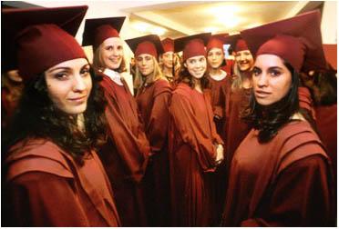 Graduacion en la Univ. Belgrano