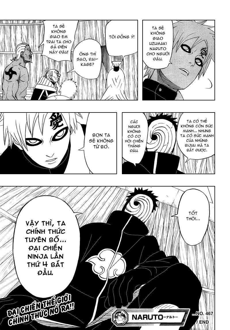 Naruto chap 467 Trang 20 - Mangak.info