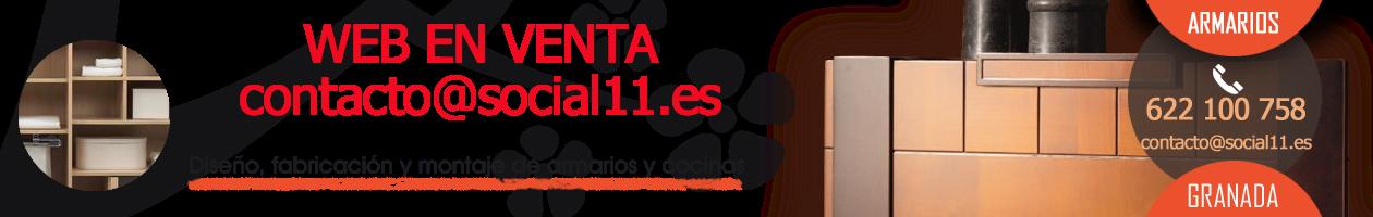 WEB EN VENTA - Carpintero en Granada, armarios a medida, cocinas, puertas de madera