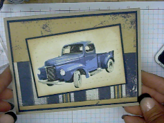 Kitchen Sink Stamps Multi Step Classic Old Truck