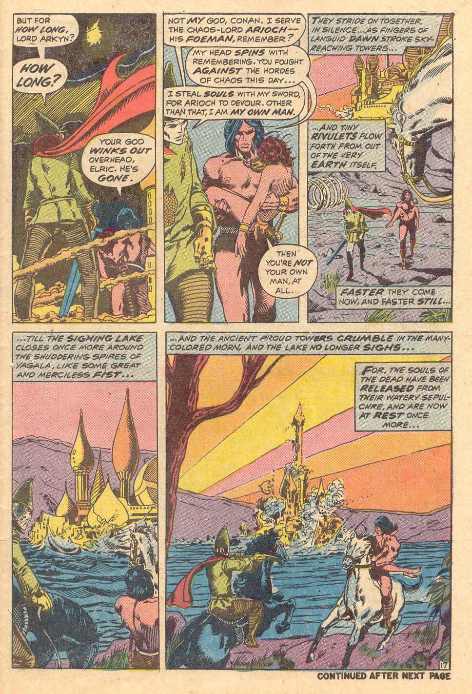 Conan the Barbarian (1970) Issue #15 #27 - English 18