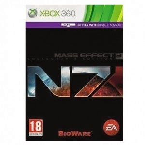Flipkart: Buy Mass Effect 3 N7 (Collector's Edition) (Games, Xbox 360) at Rs 999