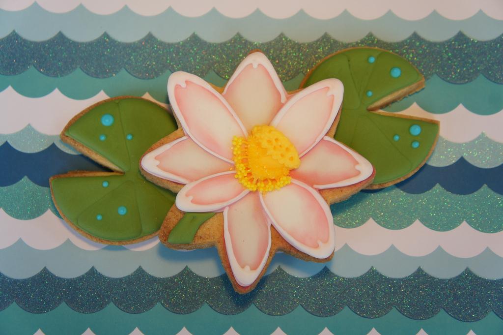 Lotus flower cookie montreal confections lotus flower cookie mightylinksfo