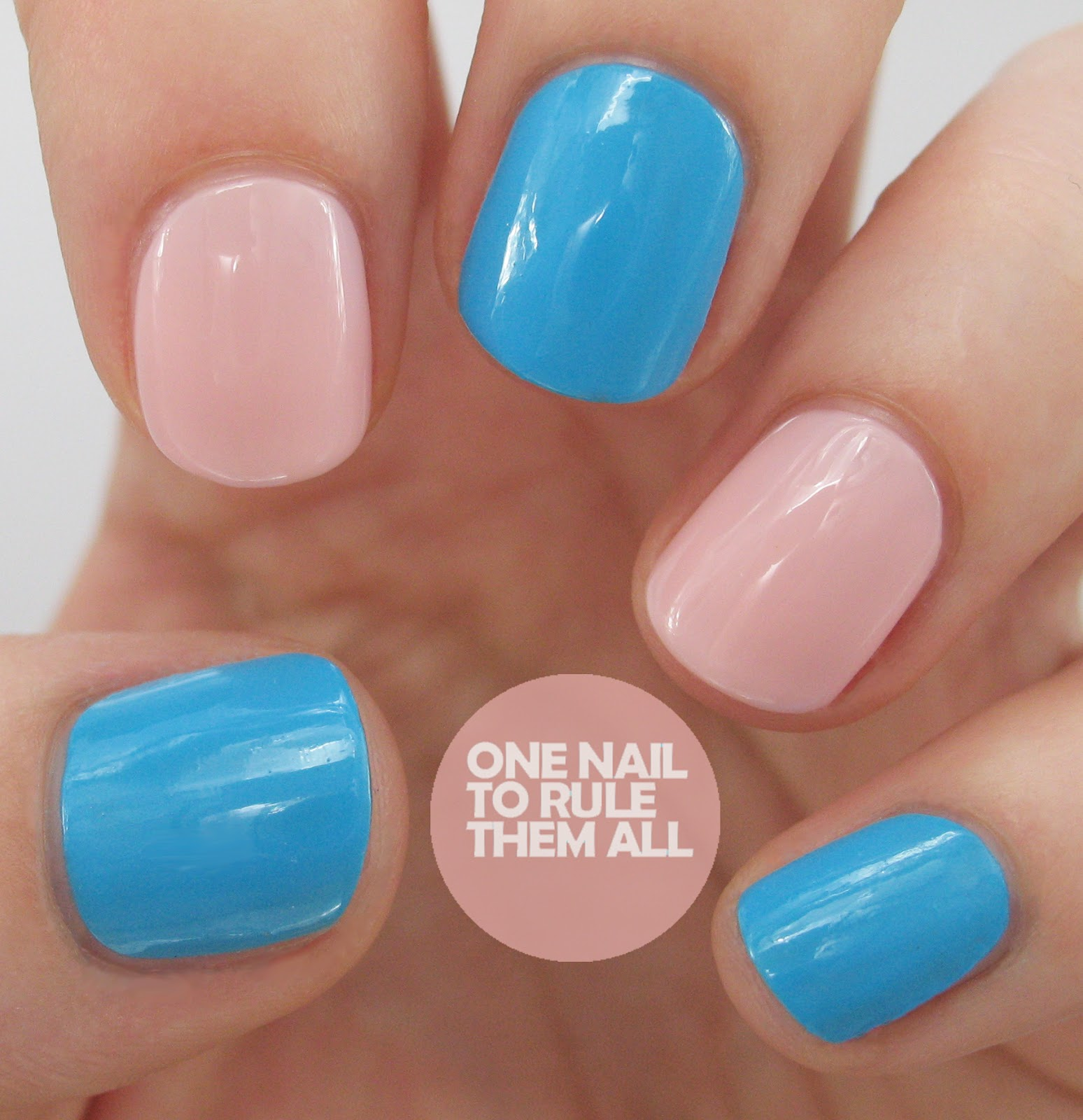 One Nail To Rule Them All Neon Beads Nail Art