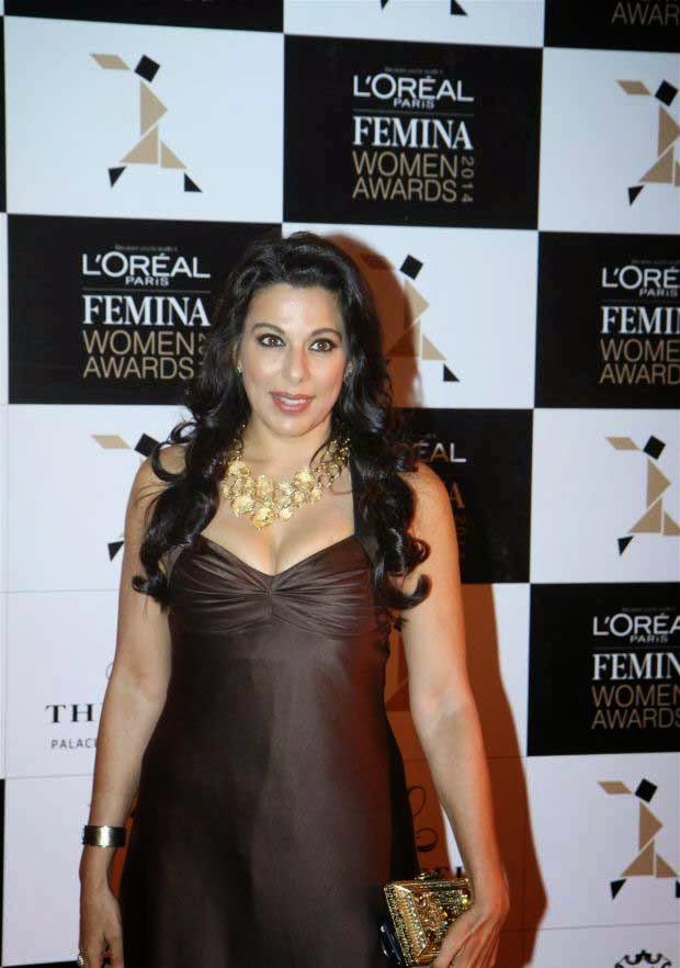 Pooja Bedi at L'Oreal Paris Femina Women Awards 2014