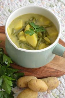 Leckeres im Herbst, Kartoffel-Bohnen Eintopf