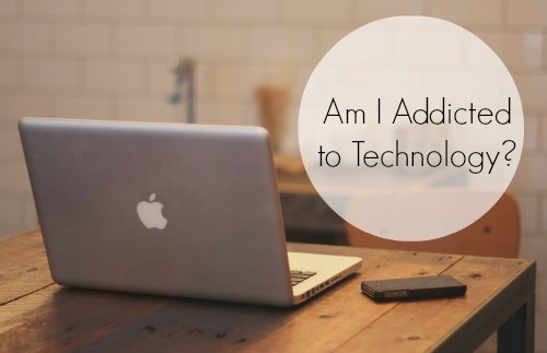 technology; addicted to technology; unplug