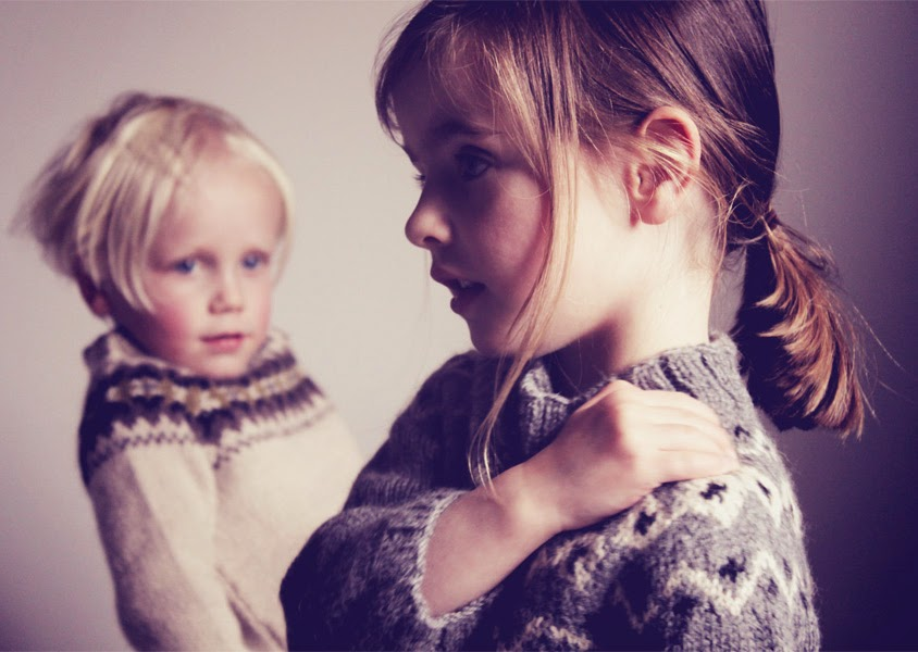 Traditional scandi style knitwear for kids by Hambro & Miller for autumn 2014