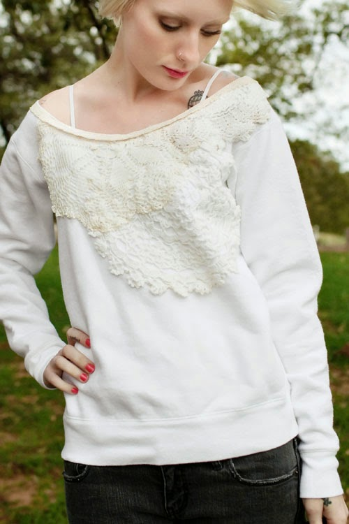 http://www.abeautifulmess.com/2011/11/restyle-a-comfy-sweatshirt-.html