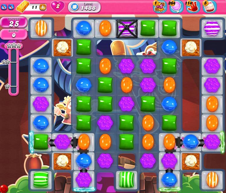 Candy Crush Saga 1488